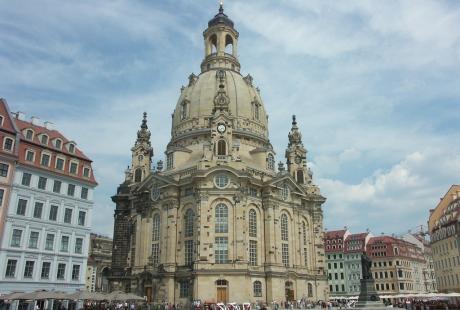 Frauenkirche - Eglise Notre-Dame de Dresde