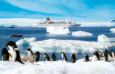 Travelling to Antarctica is becoming easier. The German cruise liner can get you there